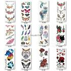 Tattoo Teens Guys Men Women Waterproof Flower Tattoo Stickers for Arms HE 02 $1.26 USD on eBay