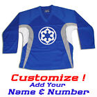 Imperial Crest Star Wars Hockey Practice Jersey Optional Name Number Royal Blue