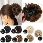 Claw Clip In Scrunchies Bun Hair Extension Natural As Human