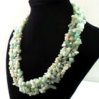 LD8 Mixed Gemstone Chip Bead Necklace 17.5 inch