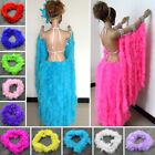 Внешний вид - 2M Fluffy Feather Boa Flower Craft For Party Wedding Dress Up Costume Decor BE