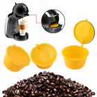 3Pcs Refillable Pod Cup Coffee Capsule Stainless Steel Filter for Dolce Gusto Ex