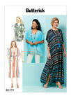 B6559 Butterick Sewing Pattern EASY Loose Fitting Top Tunic Caftan Misses 4-26