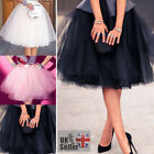 7 Layer Tulle Skirt Vintage 50s Rockabilly Petticoat Ball Gown Skater Dress $14.59 USD on eBay