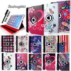 For Ipad 23456/ Mini 1234/ Air 12/ Pro 9.7-leather 360 Rotating Stand Case Cover