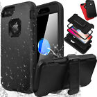 Shockproof Hard Case Stand Cover F Apple iPhone X 6 6S 7 / 8