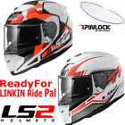 LS2 FF390 FULL FACE DVS BLUETOOTH READY MOTORBIKE MOTORCYCLE HELMET PINLOCK