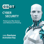ESET Cyber Security for MacOS 1 PC / 3 PCs for 1 Year, License in eBay