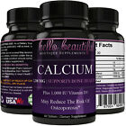 Calcium with Vitamin D Helps build and support strong bones and teeth on eBay