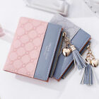 1PC New Wallet Women Coin Bag Leather Ladies Simple Bifold Small Handbag Purse