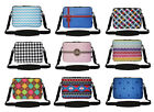 15 Inch Neoprene Matching Pattern Laptop Sleeve Bag with Hidden Handle & Strap