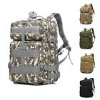 45L Military Tactical Assault Backpack Outdoor Molle Rucksack Waterproof Hiking