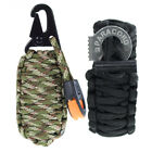 Fire Starter 14 in 1 Paracord Grenade Survival Kit Keychain or Bracelet Combo