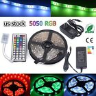 Kyпить Multi-color 1M-30M LED Strip light RGB 5050 SMD 44 Key Remote US Power Full Kit на еВаy.соm