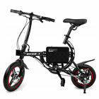 SwagCycle EB1 Lightweight Aluminum Folding eBike 250W Pedal-Assist Swap Seats