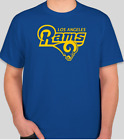 LOS ANGELES LA RAMS LOGO BRAND NEW GRAPHIC T SHIRT NFL FOOTBALL S-2XL on eBay