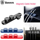 Baseus Magnetic Organizer Cable Clips Cable Holder Desktop Cord Wire Management