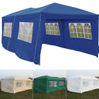 Outdoor Pop-Up Canopy Tent Sturdy Steel Frame Commercial BBQ Party Event Tent UK