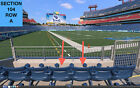 2 Front row Tampa Bay Buccaneers at Tennessee Titans preseason tickets 104 row A on eBay