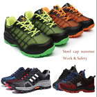 Kyпить NEW MENS LIGHTWEIGHT STEEL TOE CAP SAFETY WORK TRAINERS SHOES BOOTS GENTS-SIZE на еВаy.соm