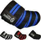 Sedroc Weight Lifting Elbow Wraps Powerlifting Support Sleeves - Pair