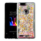 For ZTE Blade Z Max, Sequoia Quicksand Glitter Bling Hybrid Protector Case Cover