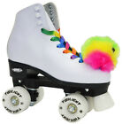 4 wheeled roller skates - Epic Allure Quad Roller Skates w/ Rainbow Twilight LED Light Up Wheels