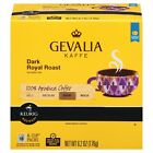 Gevalia Kaffe Dark Royal Roast Coffee 18 to 144 Keurig K cup Pods Pick Any Size