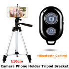 Adjustable Camera Phone Holder Telescopic Tripod Stand Kits + Bluetooth Control