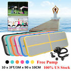 10x3.3FT Airtrack Inflatable Air Track Floor Home Gymnastics Tumbling Mat GYM US