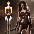 Wonder Woman Diana Prince Complete Outfit Halloween Fancy Dress Cosplay Costumes