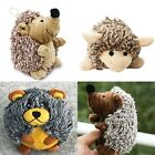 Pet Dog Squeaky Sound Toy Plush Hedgehog Sheep Bear Cat Puppy Chew Training Toy