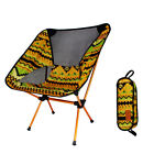 Outdoor folding chair portable backrest reinforced lightweight camping supplies