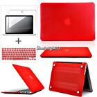 Bundle Hardshell Case + Keyboard Cover + Screen Protector For MacBook All Model