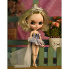 Night Shanghai Skirt Dress Gown Outfit Weding Dress for All Blythe Doll Accs