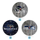 Seattle Seahawks Football Wall Clock Home Room Decor Gift on eBay