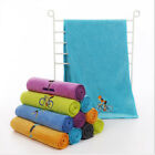 Polyester Quick Drying Sports Gym Travel Towel with Exquisite Embroidery image