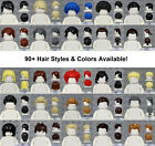 Kyпить LEGO - MALE Hair Pieces - PICK COLORS & STYLE - Minifigure Wigs Hat Town City на еВаy.соm