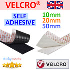 VELCRO® SELF ADHESIVE TAPE Hook and Loop Double-Sided Stick On Fastener Strips <br/> Genuine VELCRO® ~ Over 18,000 Sold ~ Fast UK Dispatch