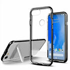 For Google Pixel 3 XL Transparent Hybrid Magnetic stand Cover Case