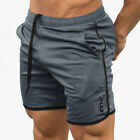 US Mens Gym Training Shorts Workout Sports Casual Clothing Fitness Running Short