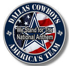 Dallas Cowboys Americas team NFL Sticker, We Stand for the National Anthem Decal on eBay