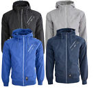 New Mens Designer Showerproof Crosshatch Flexon Hooded Windbreaker Coat Jacket