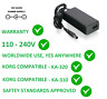 More images of 12V AC / DC POWER SUPPLY ADAPTER FOR KORG PA500 ORT REPLACEMENT KA-320 KA-310