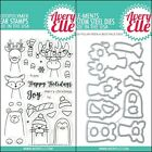 "Avery Elle ""POLAR PEEK-A-BOO PALS"" Clear Stamps Only OR Stamp & Die Bundle 2018"