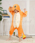 Kids Pokemon Animal Pajamas Costume Pikachu Kigurumi Charmander in US