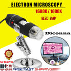 1600X/1000X 8 LED USB Zoom Digital Microscope Hand Held Biological Endoscope USA <br/> ☆ USPS fast shipping ☆ best quality ☆ lower price