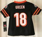 New A.J Green #18 Cincinnati Bengals Infant Toddler Kids Football Jersey Black on eBay