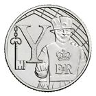 Ten Pence 10p 2018 UNCIRCULATED A to Z Coins - Royal Mint Coin Hunt Free Postage
