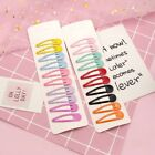 Cute 10Pcs/Set Candy Color Kid Girl Hairpin BB Snap Hair Clips Hair Accessories